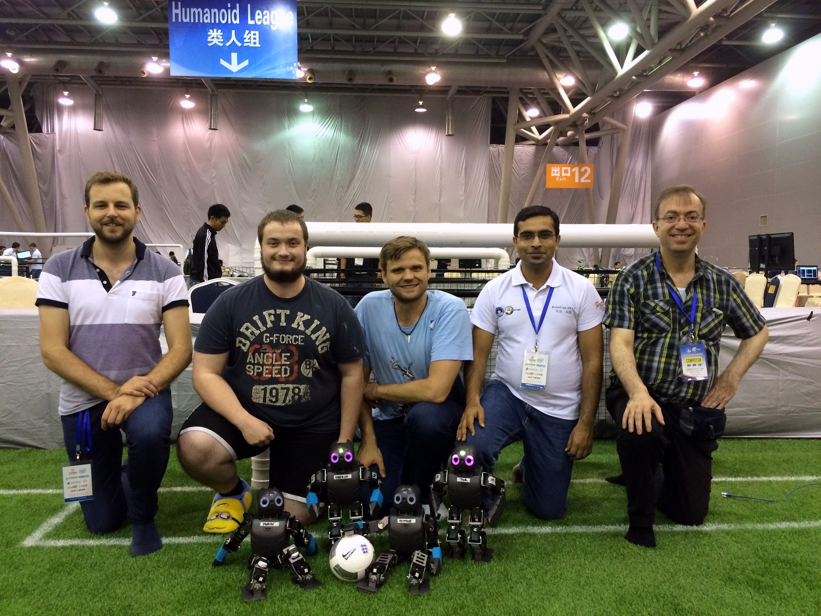 BoldHearts team at the RoboCup 2015 in China / Hefei