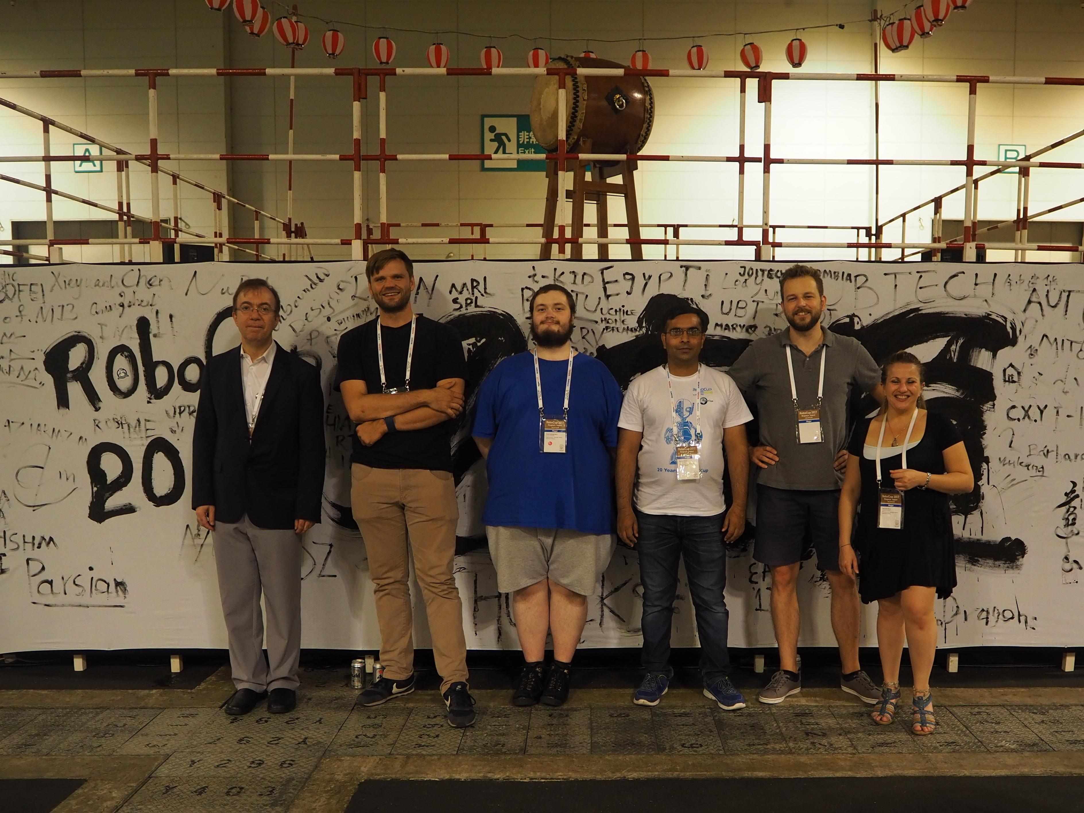 BoldHearts team at the RoboCup 2017 in Japan / Nagoya