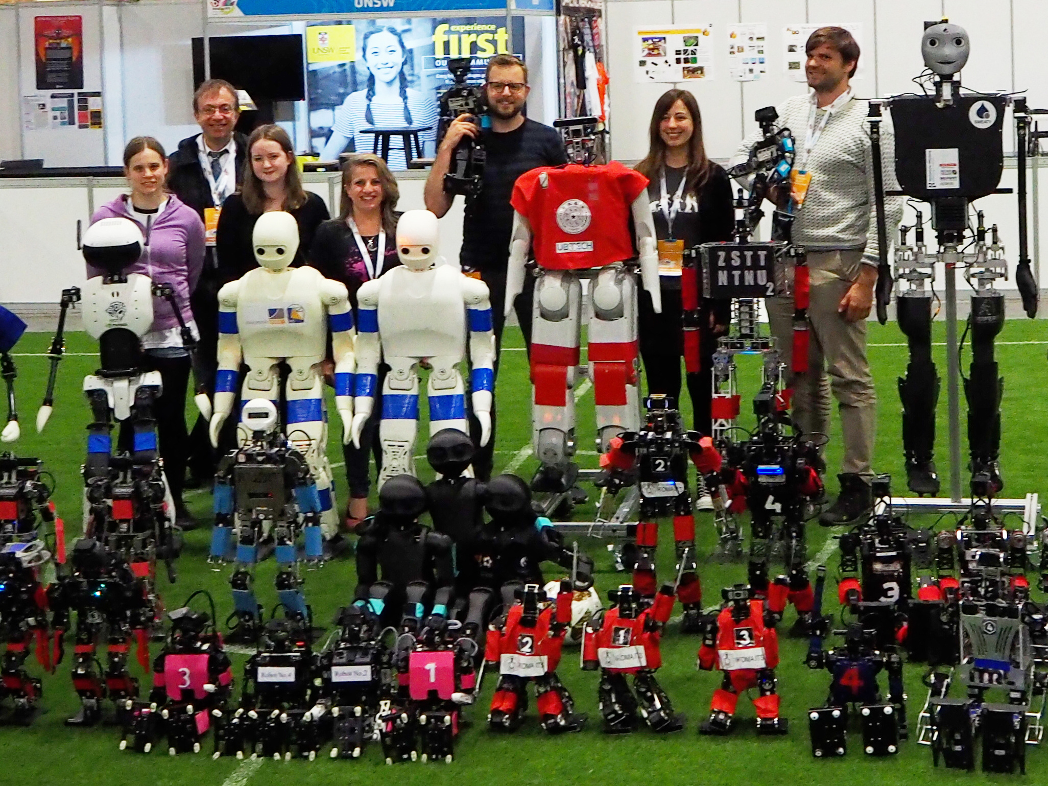 BoldHearts team at the RoboCup 2019 in Sydney / Australia